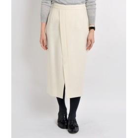 SHIPS for women / シップスウィメン ウールタイトミドルスカート