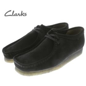 SALE クラークス Clarks ワラビー WALLABEE ブラックスエード(ブラックソール) 336E-BS-BLKSOLE
