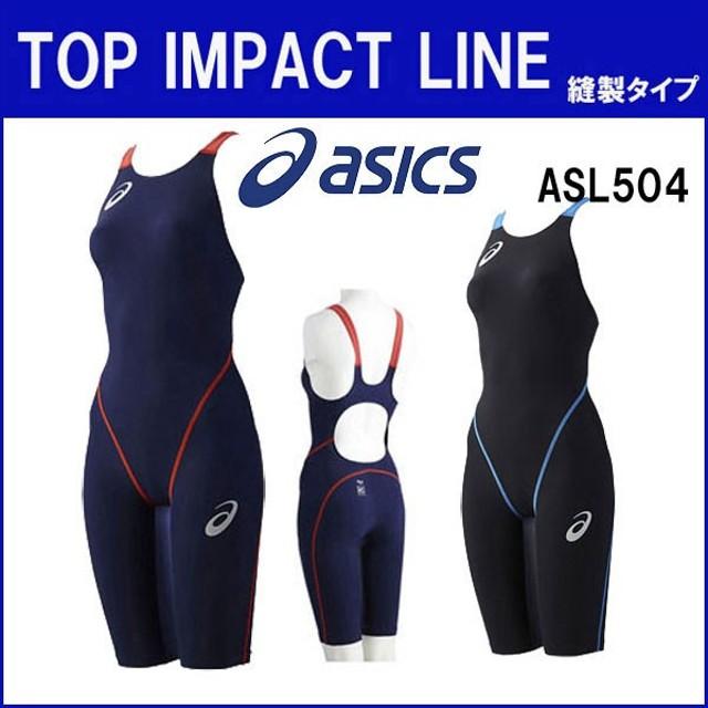 15d51a326d4 アシックス レディース 競泳 水着 トップインパクト(縫製タイプ) TI W'Sスパッツ ASL504 FINA承認