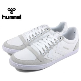 SALE hummel ヒュンメル Slimmer Stadil Low スリマー スタディール ロー ホワイト 63-112K-9001