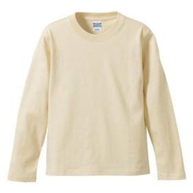 (ユナイテッドアスレ)UnitedAthle 5.6オンス 長袖Tシャツ 501001 [メンズ] 019 ナチュラル M