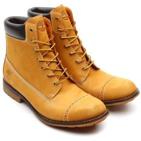 ティンバーランド Timberland ブーツ シティ プレミアム 6インチ ブローグ(WHEAT NUBUCK)メンズ