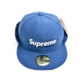 SUPREME(シュプリーム)×Polartec 17AW Ear Flap New Era Cap BOXロゴニューエラキャップ df1e5d347070
