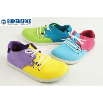 ビルケンシュトックモンタナ BIRKENSTOCK Montana レディース レザーシューズ ナロー幅 099813(Yellow/Orchid) 099803(Sky/Beetroot) 099793(Lime/Blue)