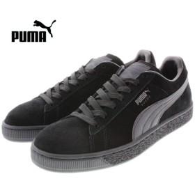 SALE プーマ PUMA SUEDE CLASSIC + LFS スウェード クラシック プラス LFS ブラック/ブラック/ブラック 356328-01