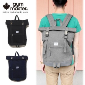 SALE gym master ジムマスター METAL BUCKLE ROLL TOP BACKPACK メタルバックル ロールトップ バックパック G349316