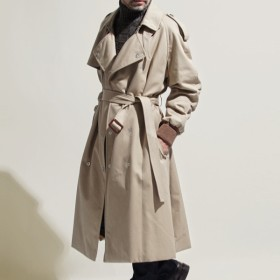 メゾンマルジェラ Maison Margiela 中綿入り トレンチコート ベージュ メンズ アウター 防寒着 s50ah0045-s48473-123 10 男性のためのコレクション