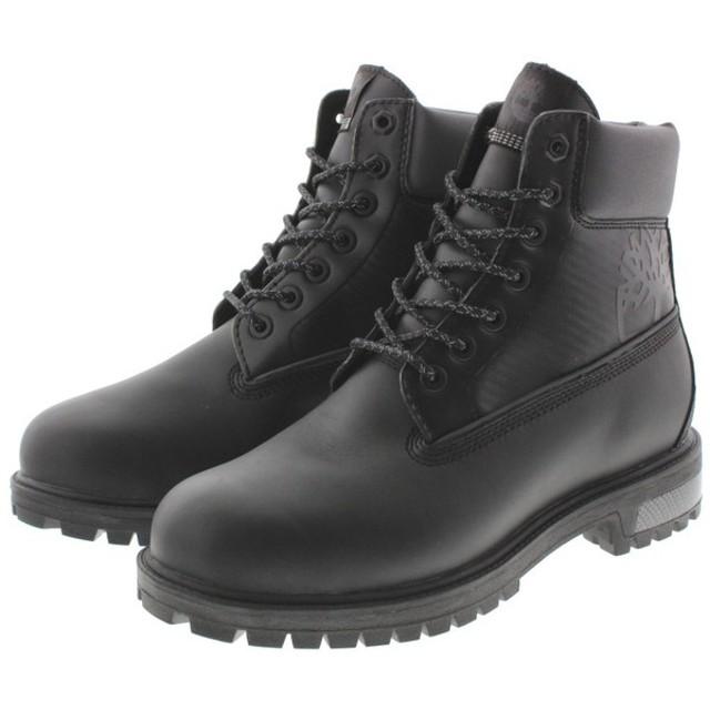 SALE ティンバーランド Timberland ブーツ シティトレッカー 6インチ リフレクティブ ブーツ ブラック TB0A1NFP