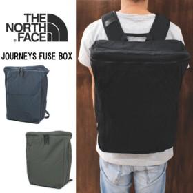 バッグ ノースフェイス THE NORTH FACE ジャーニーズ フューズ ボックス NM81653 K(ブラック) UN(アーバンネイビー) NT(ニュートープ)