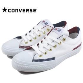 SALE コンバース CONVERSE ALL STAR BLOCKTRICO R OX オールスター ブロックトリコ R オックス ホワイト 1CK076