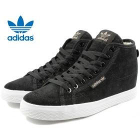SALE アディダス adidas ハニー ミッド ヒール コーデュロイ コアブラック/コアブラック/FTWホワイト AQ5774