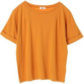 【6,000円(税込)以上のお買物で全国送料無料。】ネックダーツ5分袖プルオーバー