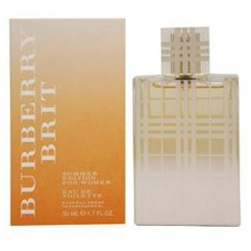 バーバリー BURBERRY ブリット サマー ウーマン EDT・SP 50ml 香水 フレグランス BRIT SUMMER WOMEN
