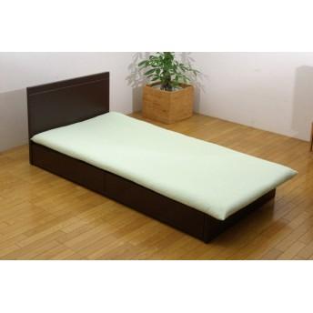 【敷ふとんカバー】森の眠り セミダブルサイズ(125×215cm/グリーン)