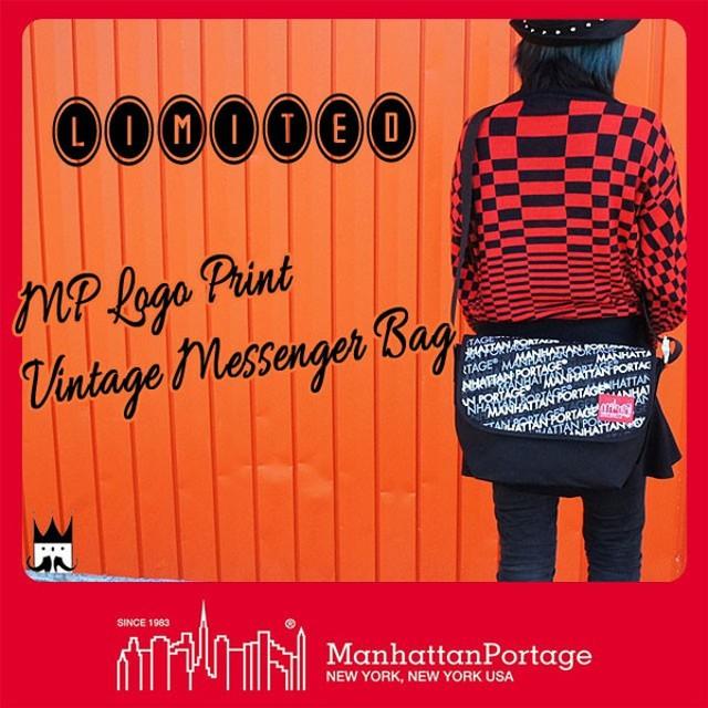 マンハッタンポーテージ Manhattan Portageメンズ レディース バッグ MP1606V-JR-LP MPロゴプリント ビンテージメッセンジャーバッグ ショルダー リミテッド