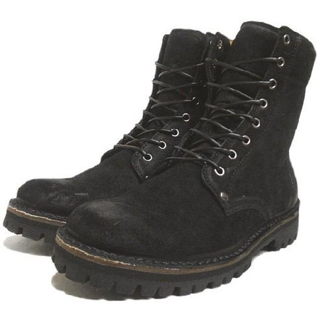 SALE CEBO セボ 8 HOLE BOOTS 8ホールブーツ ブラックスエード 92088 S