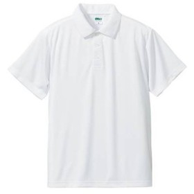 (ユナイテッドアスレ)UnitedAthle 4.7オンス ドライ シルキータッチ ポロシャツ 509001 [メンズ] 001 ホワイト XL
