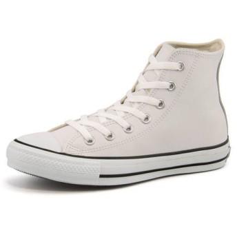 コンバース converse LEA ALL STAR HI レザーオールスターHI 1B907 ホワイト|スニーカー レディース