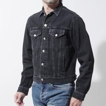 バレンシアガ BALENCIAGA デニムジャケット Gジャン グレー メンズ カジュアル アウター トップス 508866-tue14-1973 CAPSULE