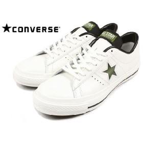 SALE コンバース CONVERSE スニーカー ONE STAR J ワンスター J ホワイト/グリーン