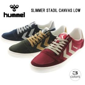 SALE ヒュンメル hummel Slimmer Stadil Canvas Low Smu スリマー スタディール キャンバス ロー Smu 64-442