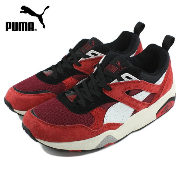 Star White Trainers//Shoes Red 360860 01 Puma Disc Blaze Athletic High Risk Red