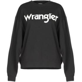 《期間限定セール開催中!》WRANGLER レディース スウェットシャツ ブラック XS コットン 100%