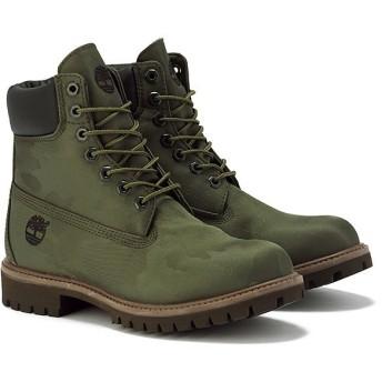 ティンバーランド Timberland ブーツ アイコン 6インチ ファブリック ブーツ(GREEN)メンズ 15FW-I