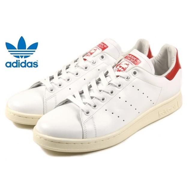 SALE アディダス adidas STAN SMITH スタンスミス FTWホワイト/FTWホワイト/レッド B25363