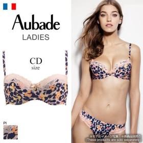 ブラジャー オーバドゥ Aubade WILD AUDACITY 1/2カップ ノンパテッド CD