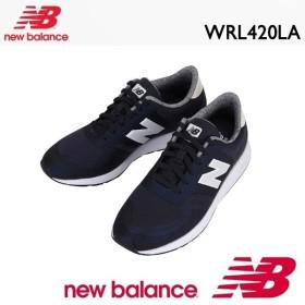 ニューバランス スニーカー レディース New Balance WRL420 LA Navy/White