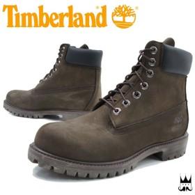 ティンバーランド TimberlandAF 6インチ プレミアムブーツ メンズ ブーツ TB010001 ショートブーツ ショート丈 ダークブラウンヌバック