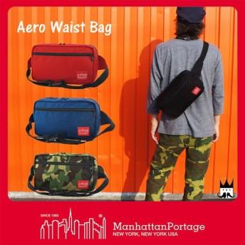 マンハッタンポーテージ Manhattan Portage メンズ レディース バッグ MP1109 エアロ ウェストバッグ ウエストポーチ ボディバッグ ワンショルダー 斜め掛け