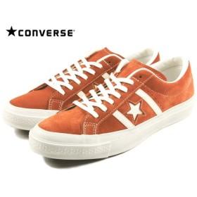 SALE コンバース CONVERSE STAR & BARS SUEDE スター&バーズ スエード オレンジ/ホワイト 1CK137