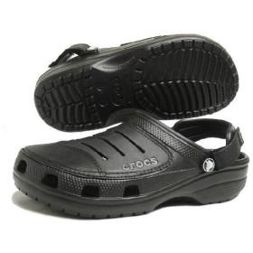 SALE クロックス crocs サンダル yukon ユーコン ブラック/ブラック 10123-060