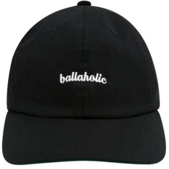 ボーラホリック ballaholic ロゴ 6パネル キャップ (black) 17FW-I