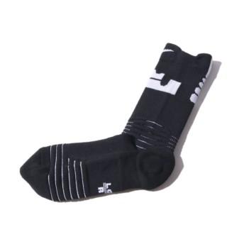 ナイキ NIKE ソックス バスケットボール エリート バーサティリティ レブロン クルー ソックス (BLACK) 17SP-I