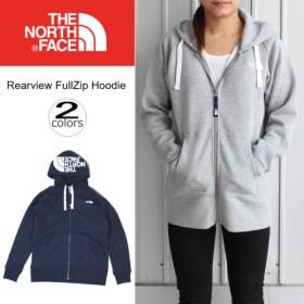 ノースフェイス THE NORTH FACE リアビュー フルジップ フーディー Rearview FullZip Hoodie NTW11755 ミックスグレー2(ZZ)コズミックブルー(CM)