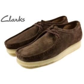 SALE クラークス Clarks WALLABEE ワラビー ダークブラウンスエード 336E-DBRS