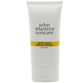 ジョン マスター オーガニック JOHN MASTERS ORGANICS ナチュラル ミネラル サンスクリーン SPF30 チューブタイプ 59ml 化粧品・コスメ