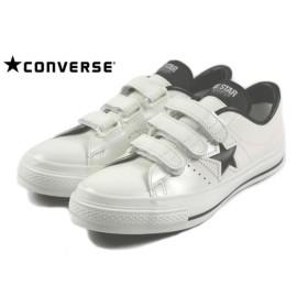 SALE コンバース CONVERSE ONE STAR J V-3 ワンスター J V-3 ホワイト/ブラック