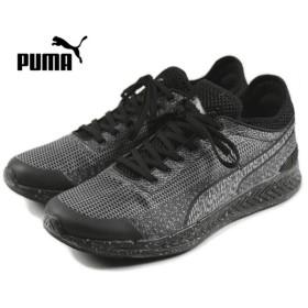 SALE プーマ PUMA IGNITE SOCK WOVEN イグナイト ソック ウーブン ブラック/ブラック 360897-03