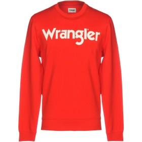 《セール開催中》WRANGLER メンズ スウェットシャツ レッド S コットン 100%
