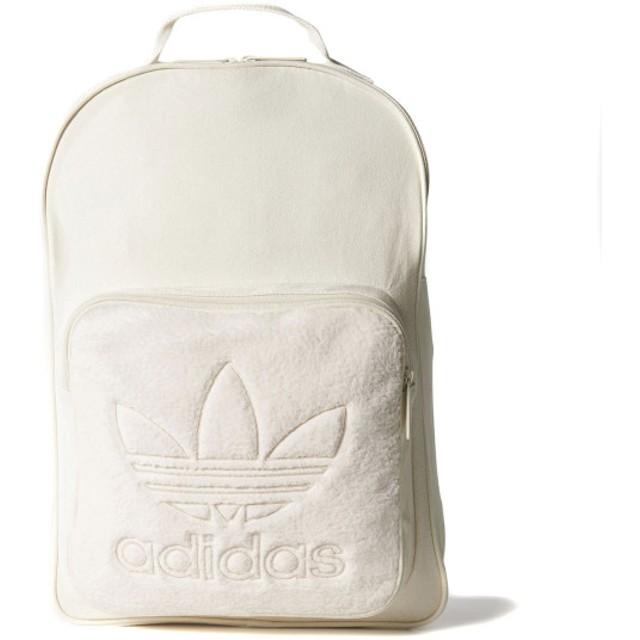 アディダス adidas Originals リュック オリジナルス バックパック クラシック キャンバス (CHALK WHITE) 17FW-I