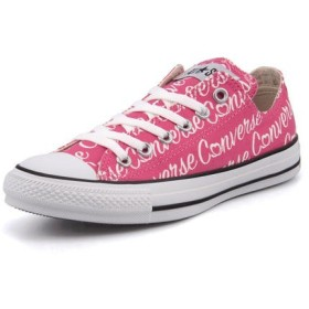 converse(コンバース) ALL STAR LETTERING OX(オールスターレタリングOX) 5CL068 ピンク|スニーカー レディース