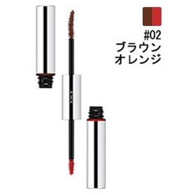 RMK (ルミコ) RMK Wカラーマスカラ #02 ブラウンオレンジ 6.0g 化粧品 コスメ