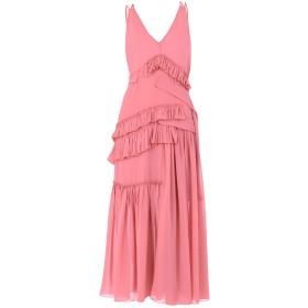 《セール開催中》AQUILANO-RIMONDI レディース ロングワンピース&ドレス ピンク 42 100% ポリエステル