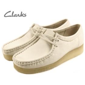 SALE クラークス Clarks WALLABEE ワラビー オフホワイト 654F-WTSS
