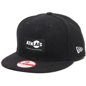 アトモス ラボ ATMOS LAB ニューエラ アトモス ラボ 9フィフティ スナップ バック(TAG)(BLACK)メンズ 15FW-I