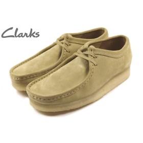 SALE クラークス Clarks WALLABEE ワラビー メイプルスエード 336E-BEGS